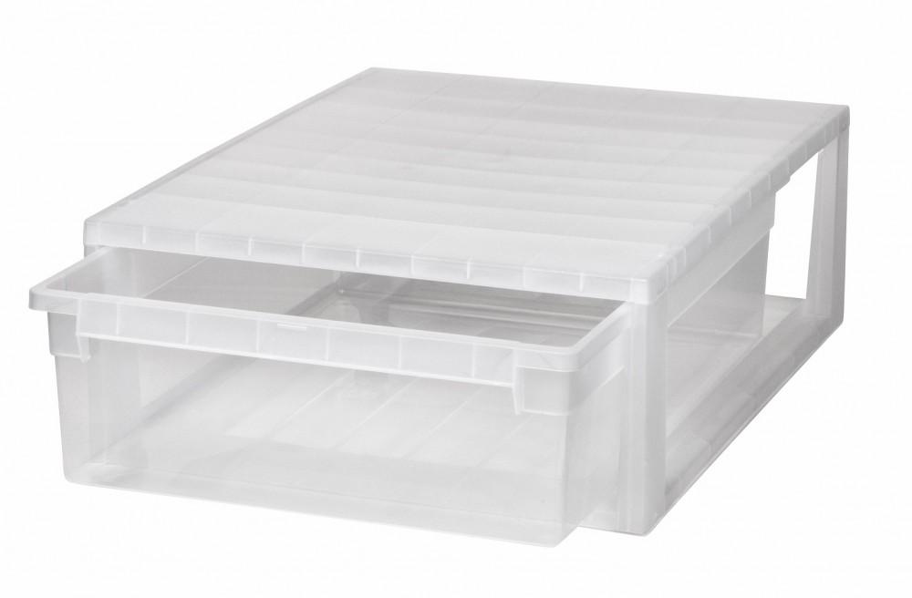 schubladenbox schublade aufbewahrungsbox kleiderbox kommode unterbettbox xl. Black Bedroom Furniture Sets. Home Design Ideas